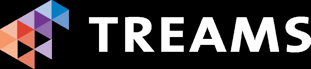 Logo Treams wit